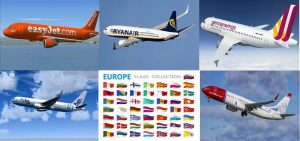 Low Budget Airline to Europe