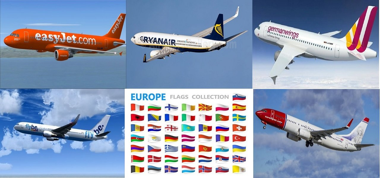 Low cost Airline Europe ㋡ Book Cheap Tickets